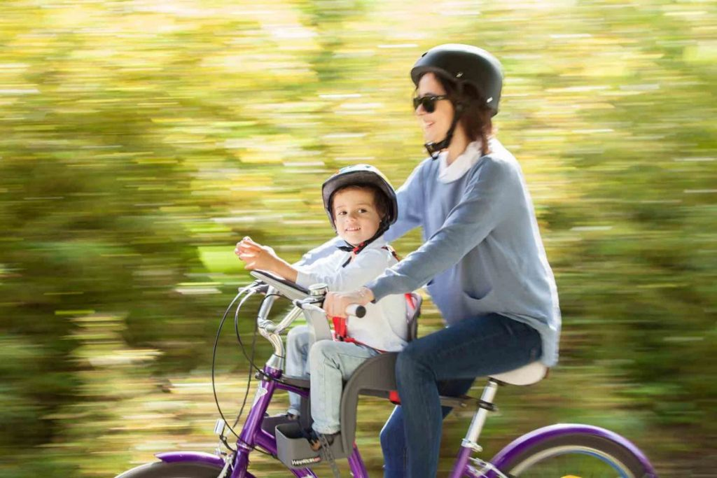 Výběr dětské sedačky na kolo